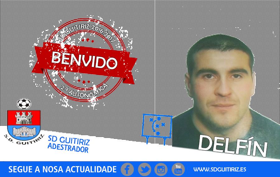 Delfín, adestrador da SD Guitiriz