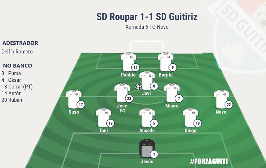 Roupar vs SD Guitiriz 17/18